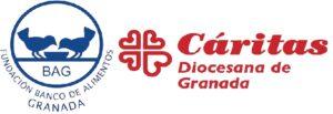 Banco de Alimentos y Cáritas Diocesana de Granada